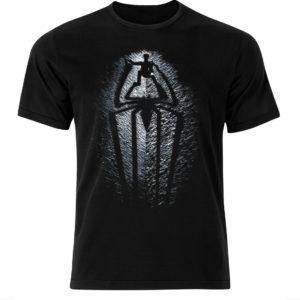 Filmowa koszulka z nadrukiem Spider-Man