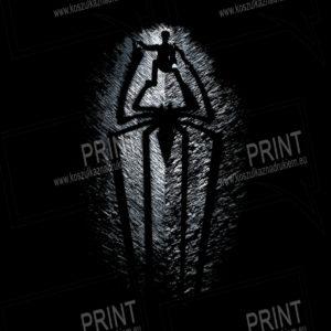 koszulka z nadrukiem Spider-Man tło