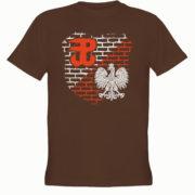 koszulka z nadrukiem orzeł kotwica