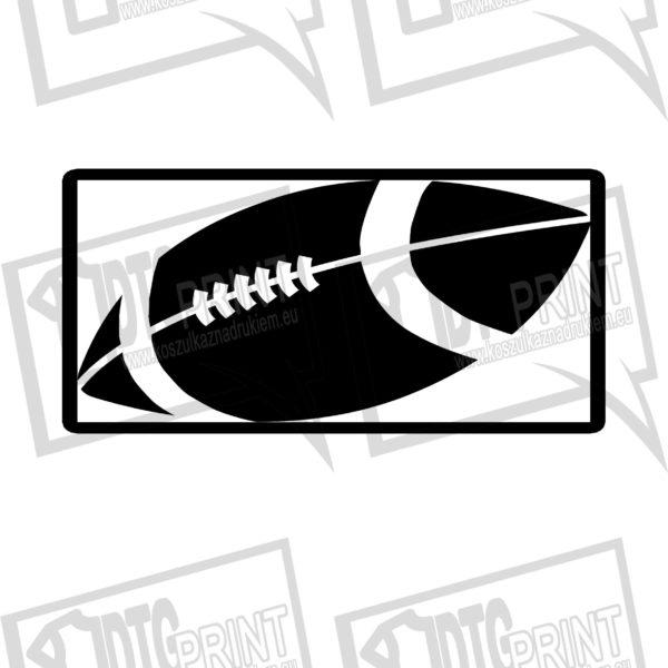 piłka logo czarne