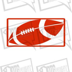 piłka logo czerwone