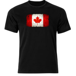 koszulka z nadrukiem flaga Kanada