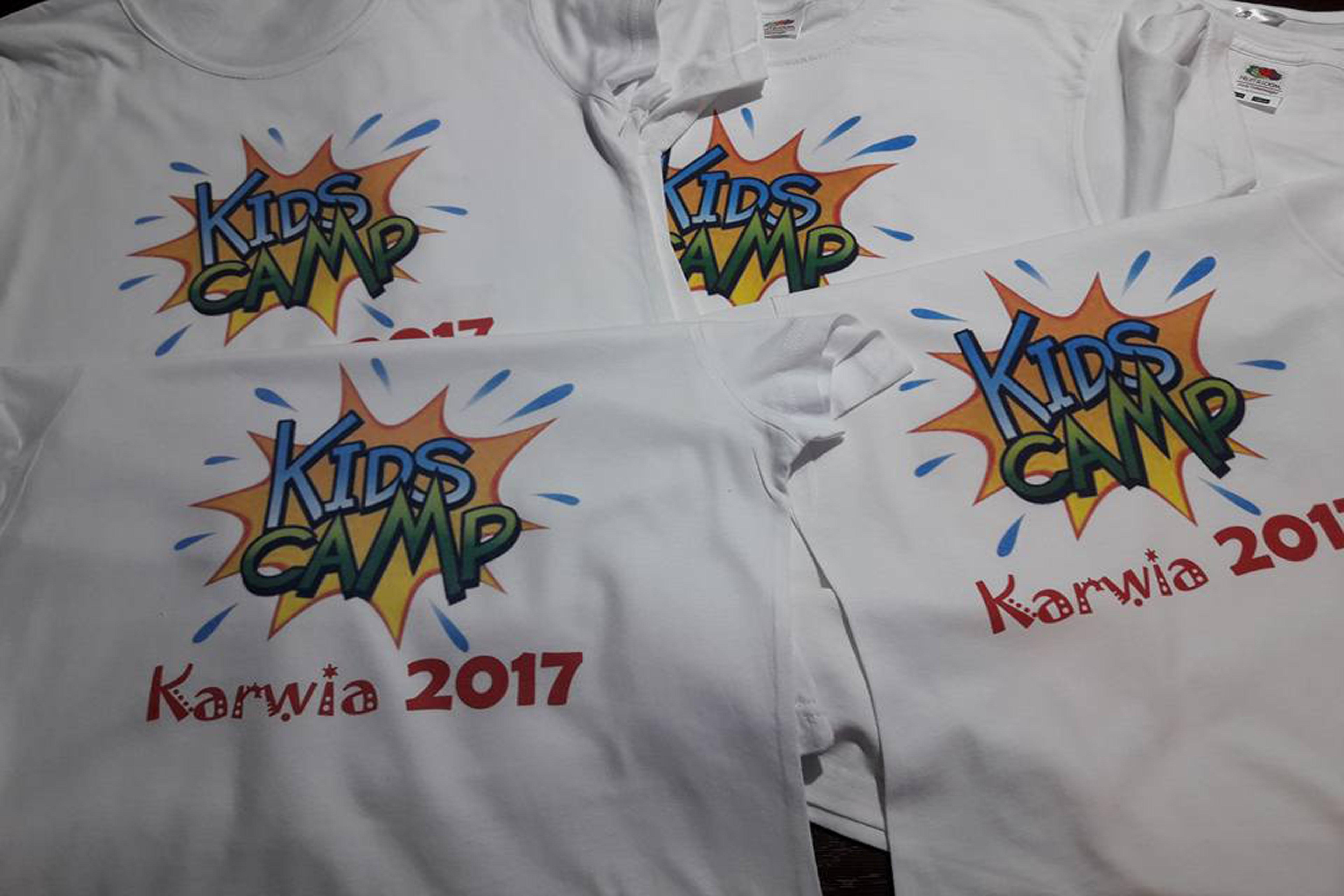 Koszulki dla dzieci z własnym nadrukiem