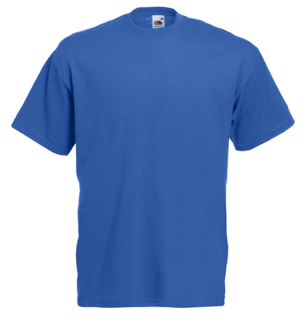 Koszulka niebieska Fruit Of The Loom