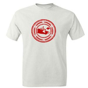 Koszulka z nadrukiem logo Kanada