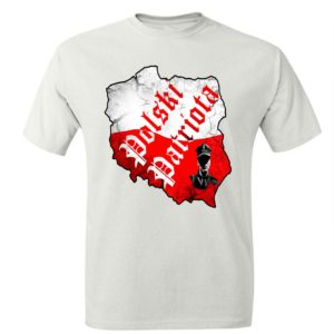Męska koszulka patriotyczna. Koszulka męska polski patriota