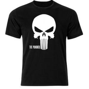Koszulka film, filmowa męska koszulka z nadrukiem Punisher