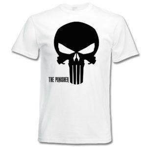 Koszulka film, koszulka filmowa z nadrukiem Punisher