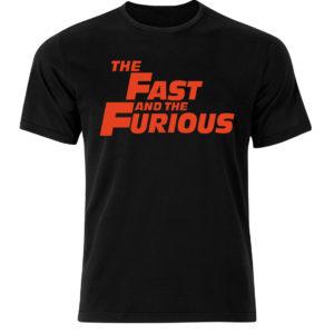 Koszulka film, koszulka męska z nadrukiem Szybcy i Wściekli