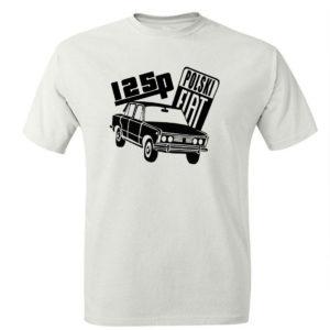 Koszulka Fiat 125p, koszulka retro PRL
