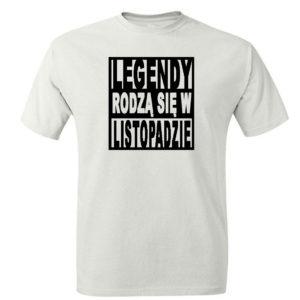 Legendy rodzą się w listopadzie koszulka t-shirt urodziny