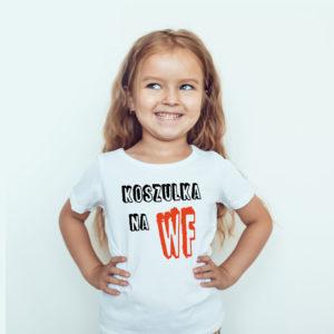 Ubrania dla dzieci / T-shirt dla dzieci / Koszulka na WF