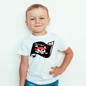 Ubrania dla dzieci / Koszulka dla dzieci z nadrukiem Pirat