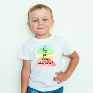 Koszulki dla dzieci / Koszulka dla dzieci z nadrukiem Co By Tu Dziś Zmalować