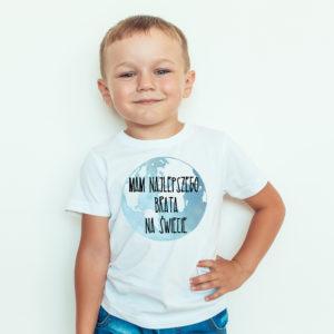 Koszulki dla dzieci / Koszulka dla dzieci z nadrukiem Mam Najlepszego Brata Na Świecie