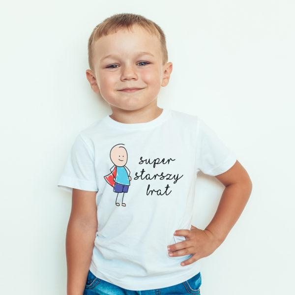 Koszulki dla dzieci / Koszulka dla dzieci z nadrukiem Super Starszy Brat