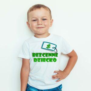 Koszulki dla dzieci / Koszulka Z Nadrukiem Bezcenne Dziecko