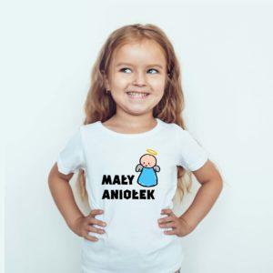 Koszulki dla dzieci / Koszulka z nadrukiem Mały Aniołek