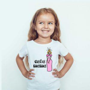Koszulki dla dzieci / Koszulka z nadrukiem Cała Mama
