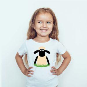 Ubrania dla dzieci / Koszulka Dla Dzieci Baranek Shawn