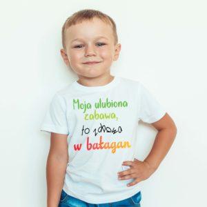 Ubrania dla dzieci / Koszulka Moja Ulubiona Zabawa To Zabawa W Bałagan