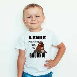 Ubrania dla dzieci / Koszulka dla dzieci z nadrukiem Lenie Rodzą Się W Grudniu