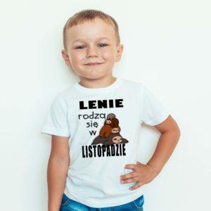 Ubrania dla dzieci / Koszulka dla dzieci z nadrukiem Lenie Rodzą Się W Listopadzie