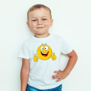 Koszulka dla dzieci emotki