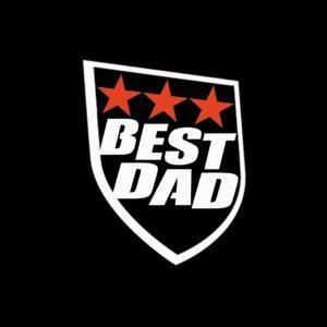 Koszulka męska prezent dla taty BEST DAD