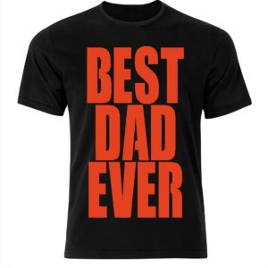T-shirt męska BEST DAD EVER prezent dla taty