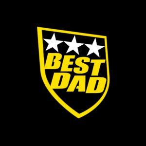 T shirt męska prezent dla taty BEST DAD