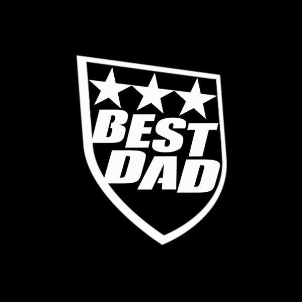 Koszulka z nadrukiem prezent dla taty BEST DAD