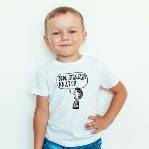 Będę Starszym Bratem Koszulka Dla Dzieci