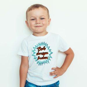 Będę Starszym Bratem Ubrania Koszulka Dla Dzieci
