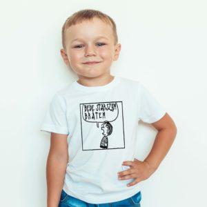 Ubrania dla dzieci Będę Starszym Bratem