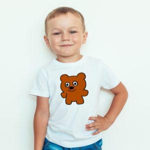 Koszulka Dla Dzieci Z Nadrukiem Miś