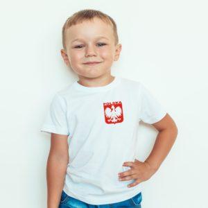Koszulka Piłkarska Dla Chłopca Polska Dla Dzieci