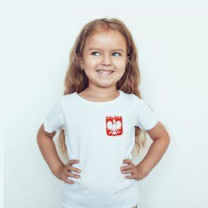 Koszulka Piłkarska Dla Dziewczynki Polska Dla Dzieci