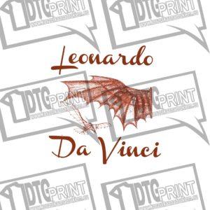 Maszyna Latająca Leonardo Da Vinci Koszulka Meska z nadrukiem