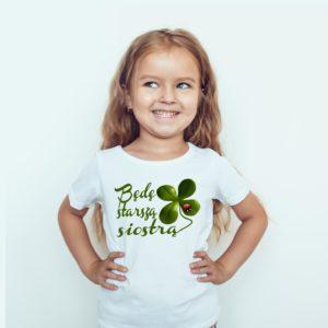 Będę Starsza Siostrą Koszulki Ubrania Koszulki Dla Dzieci