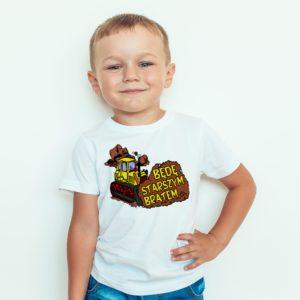Ubrania Koszulka dla dzieci Będę Starszym Bratem