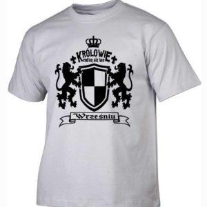 Męska koszulka z nadrukiem Królowie rodzą się we wrześniu