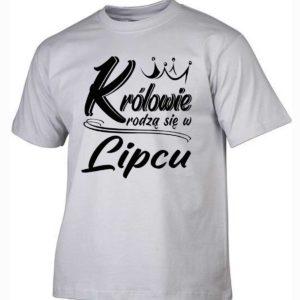 Koszulki na urodziny królowie rodzą się w lipcuKoszulki na urodziny królowie rodzą się w lipcu
