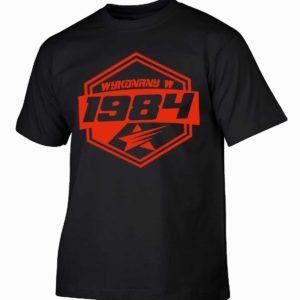 Koszulki na urodziny wykonany w 1984 prezent urodzinowy