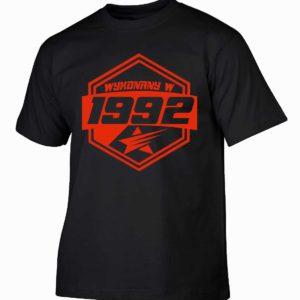 Koszulki na urodziny wykonany w 1992 prezent urodzinowy