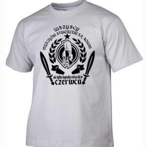 Męska koszulka wszyscy mężczyźni urodziny czerwiec