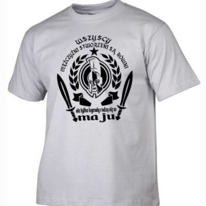 Męska koszulka wszyscy mężczyźni urodziny maj