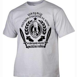 Męska koszulka wszyscy mężczyźni urodziny październik