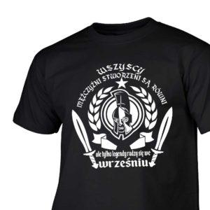 T-shirt męski wszyscy mężczyźni urodziny wrzesień