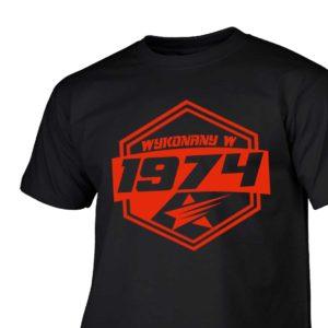 Koszulki urodzinowe wykonany w 1974 prezent urodzinowy